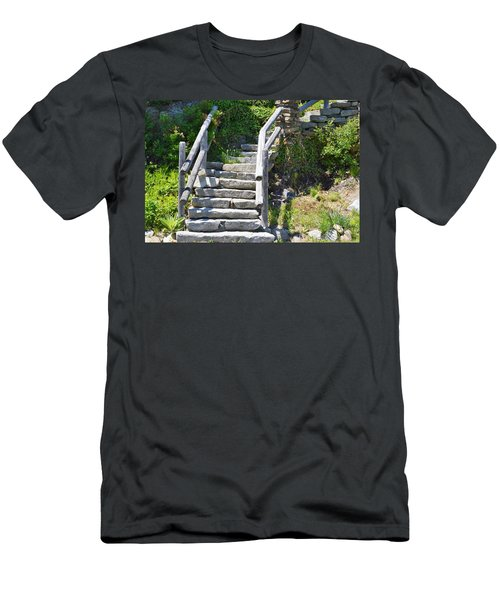 Stepping Up Men's T-Shirt (Athletic Fit)