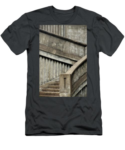 Steps Two Men's T-Shirt (Slim Fit) by Newel Hunter