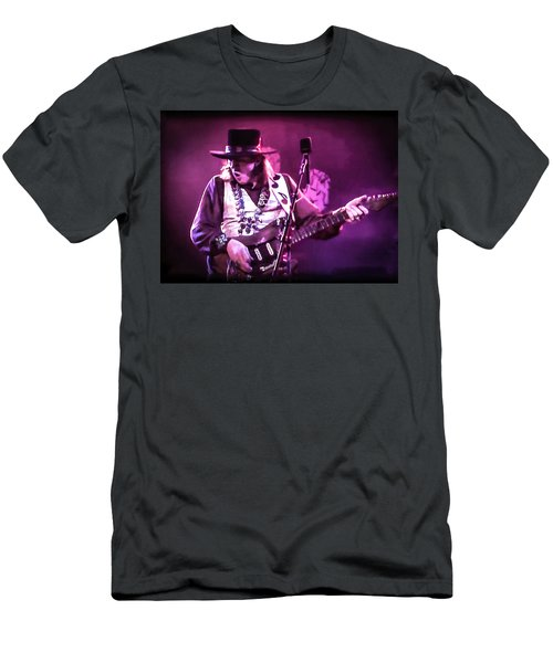 Stevie Ray Vaughan - Change It Men's T-Shirt (Athletic Fit)