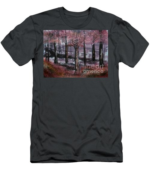 Still Beauty Men's T-Shirt (Slim Fit) by Lori  Lovetere