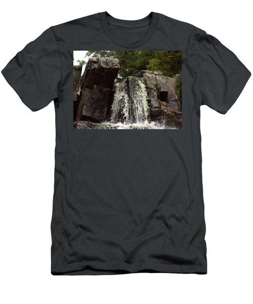 Still Brook Falls Men's T-Shirt (Athletic Fit)