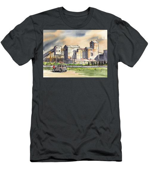 Men's T-Shirt (Slim Fit) featuring the painting Still In Business by Terry Banderas