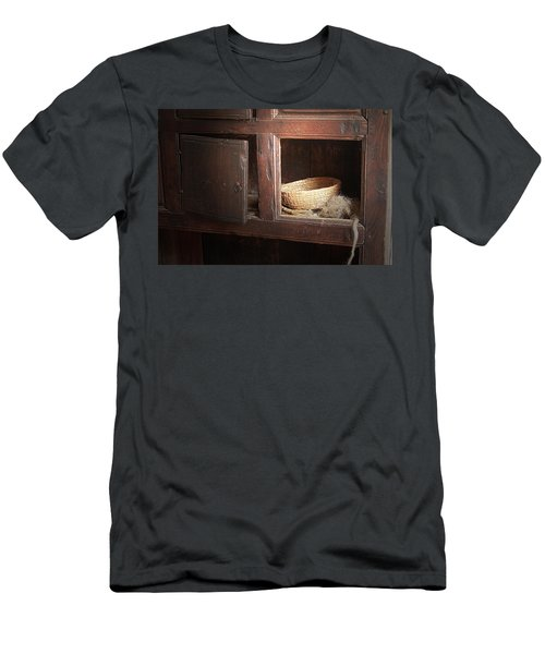 Men's T-Shirt (Slim Fit) featuring the photograph Still In The Past by Emanuel Tanjala
