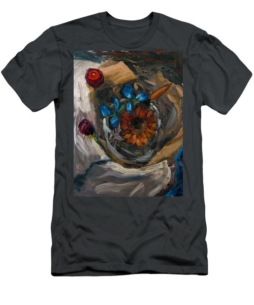 Still Life Abstract Men's T-Shirt (Athletic Fit)