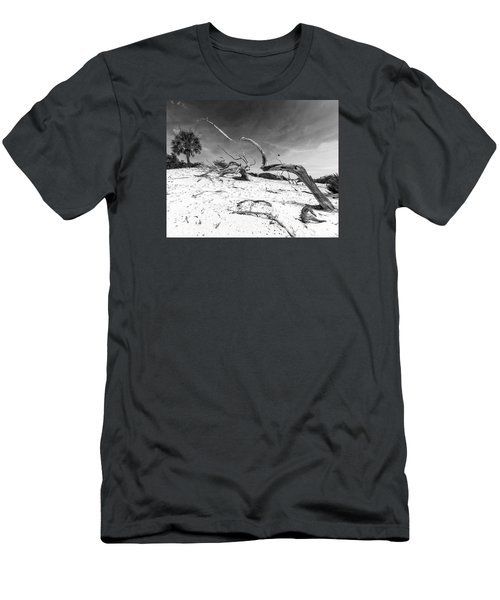 Men's T-Shirt (Slim Fit) featuring the photograph Still Reaching by Alan Raasch
