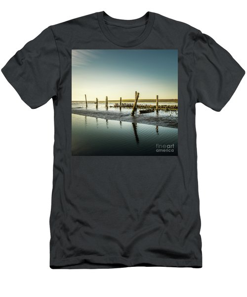 Men's T-Shirt (Slim Fit) featuring the photograph Still Standing by Hannes Cmarits