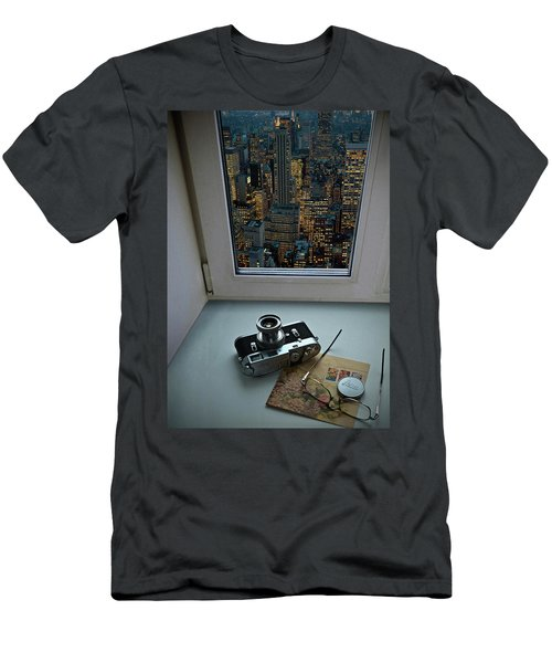 Stilllife With Leica Camera Men's T-Shirt (Athletic Fit)