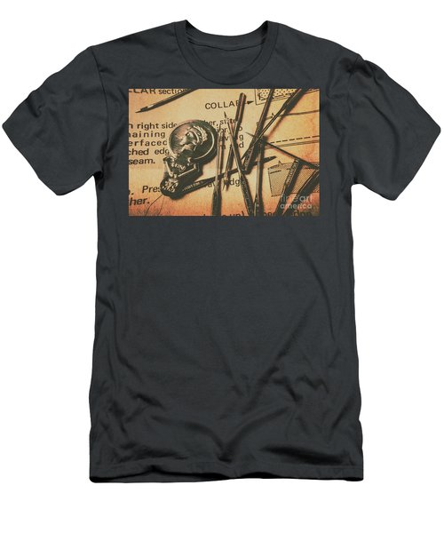 Stitching The Worn Men's T-Shirt (Athletic Fit)