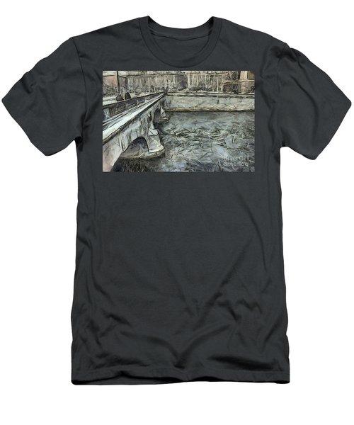 Stockholm  Sweden Men's T-Shirt (Athletic Fit)