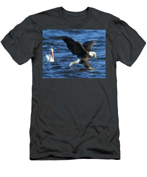 Men's T-Shirt (Slim Fit) featuring the photograph Stolen Dinner by Coby Cooper