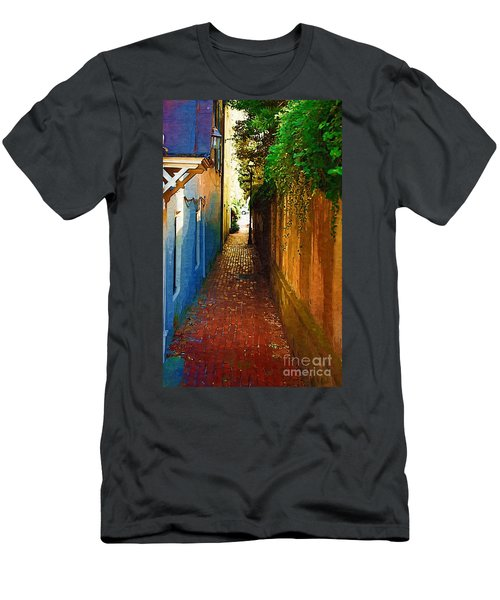 Men's T-Shirt (Athletic Fit) featuring the photograph Stoll's Ally by Donna Bentley