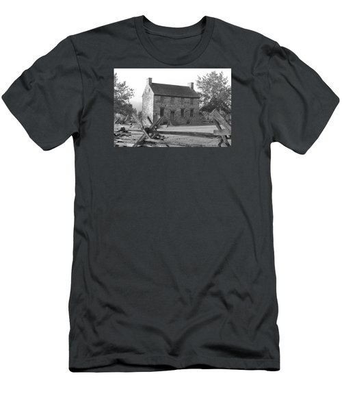 Men's T-Shirt (Slim Fit) featuring the photograph Stone House by Heidi Poulin