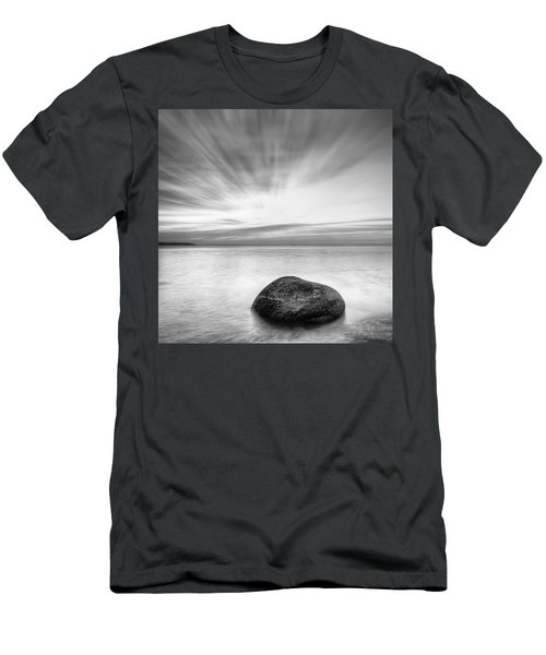 Stone In The Sea Men's T-Shirt (Athletic Fit)