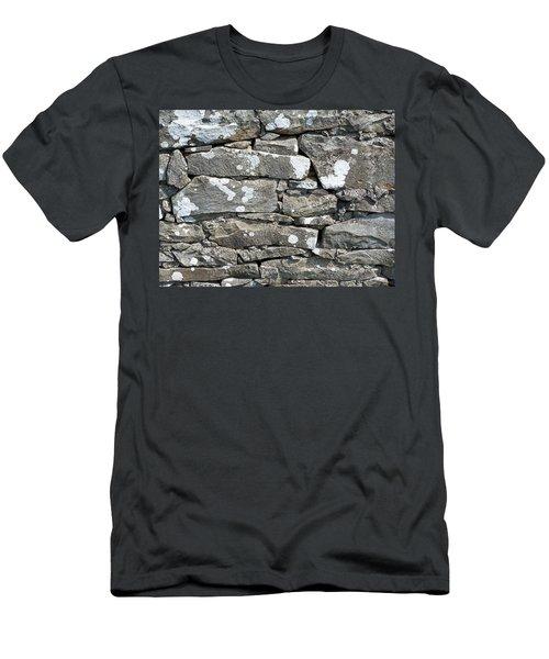 Stone Wall Detail Doolin Ireland Men's T-Shirt (Athletic Fit)