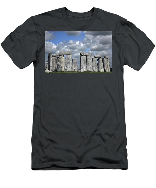 Stonehenge Men's T-Shirt (Slim Fit) by Elvira Butler