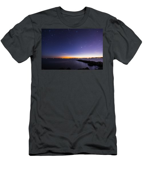 Stonington Skies Men's T-Shirt (Athletic Fit)