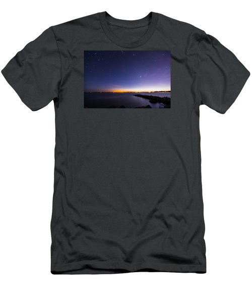 Stonington Skies Men's T-Shirt (Athletic Fit)