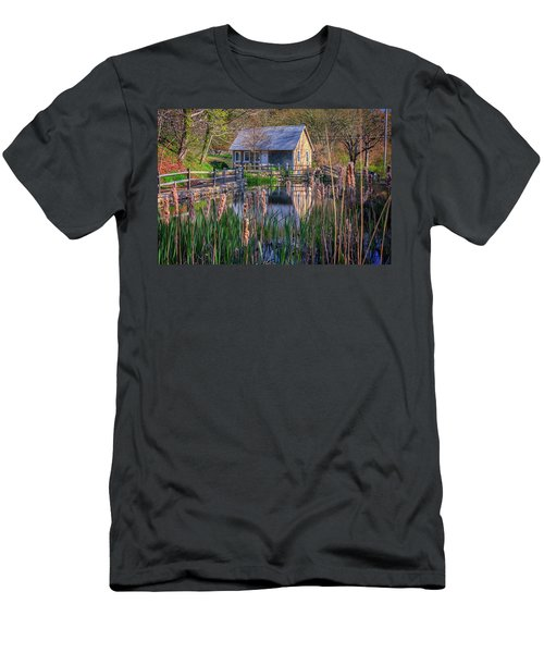 Stony Brook Grist Mill Men's T-Shirt (Athletic Fit)