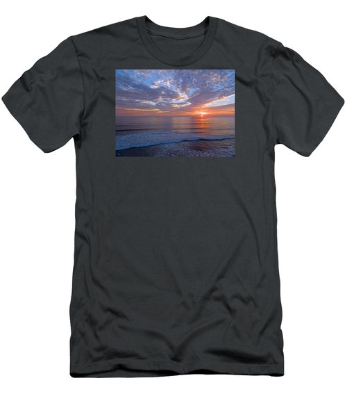 Men's T-Shirt (Slim Fit) featuring the photograph Stop And Think  by Everette McMahan jr