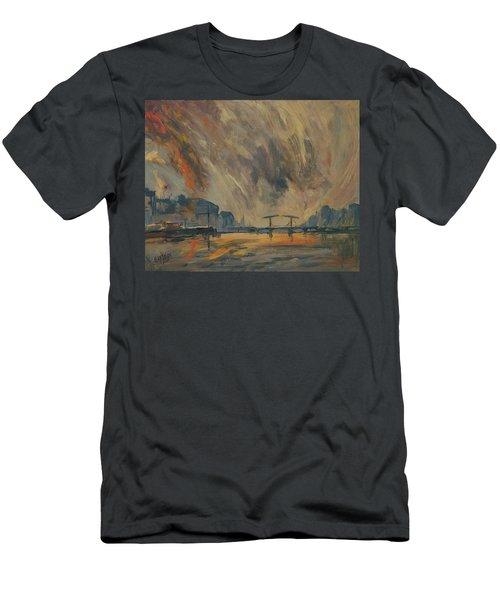 Storm 18012018 Amstel Amsterdam Men's T-Shirt (Athletic Fit)