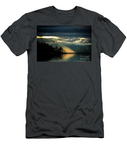 Storm 2 Men's T-Shirt (Slim Fit) by Elaine Hunter