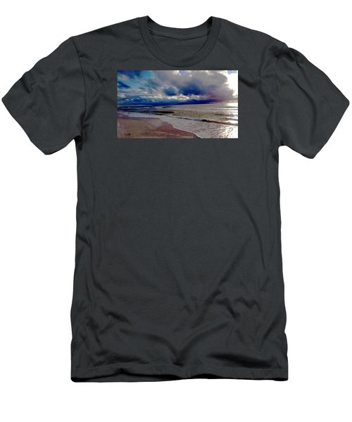 Storm Clouds Men's T-Shirt (Slim Fit) by Vicky Tarcau