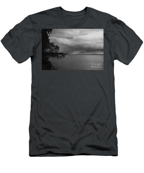 Men's T-Shirt (Slim Fit) featuring the photograph Storm Clouds by William Norton