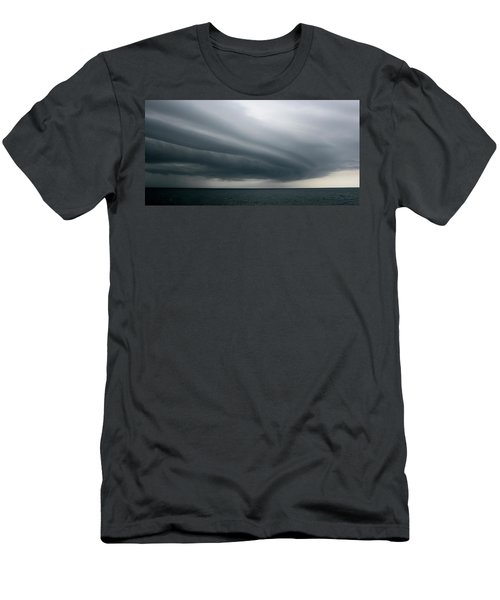 Storm Near Liberia Men's T-Shirt (Athletic Fit)