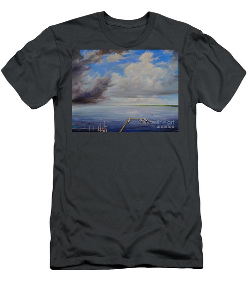 Storm On The Indian River Men's T-Shirt (Athletic Fit)