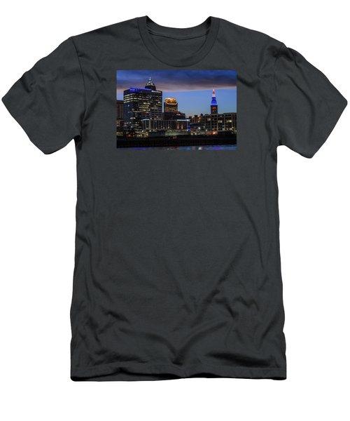 Storm Over Cleveland Men's T-Shirt (Athletic Fit)