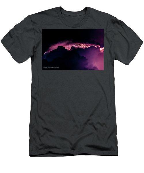 Storms Acomin' Men's T-Shirt (Slim Fit) by Stefanie Silva