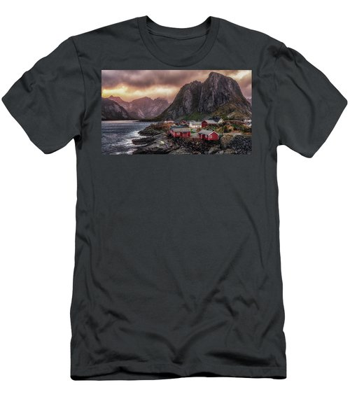 Stormy Hamnoy Men's T-Shirt (Athletic Fit)