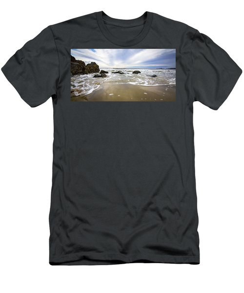 Stormy Maine Morning #1 Men's T-Shirt (Athletic Fit)