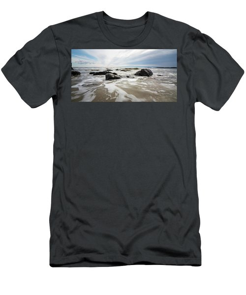 Stormy Maine Morning #3 Men's T-Shirt (Athletic Fit)