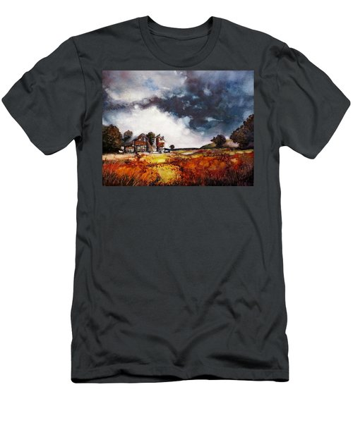 Stormy Skies Men's T-Shirt (Slim Fit) by Geni Gorani