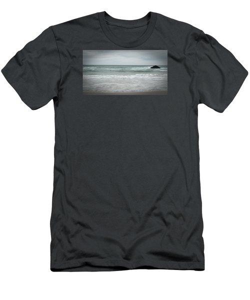Stormy Sky Men's T-Shirt (Slim Fit) by Helen Northcott