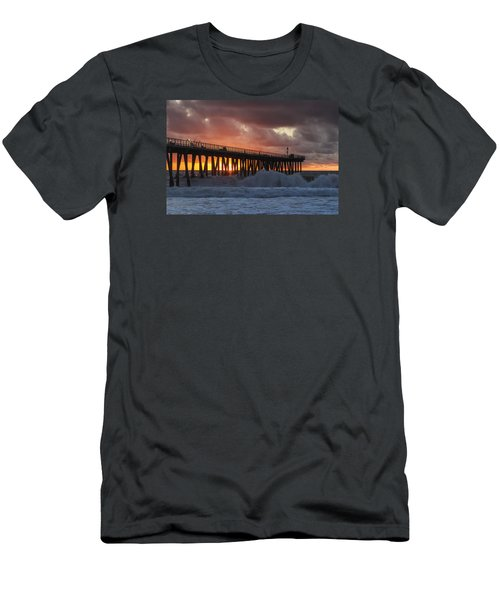Stormy Sunset Men's T-Shirt (Slim Fit) by Ed Clark