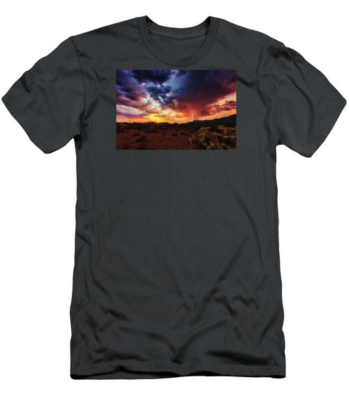 Stormy Twilight Men's T-Shirt (Slim Fit) by Rick Furmanek