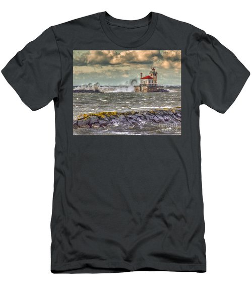 Stormy Waters Men's T-Shirt (Athletic Fit)