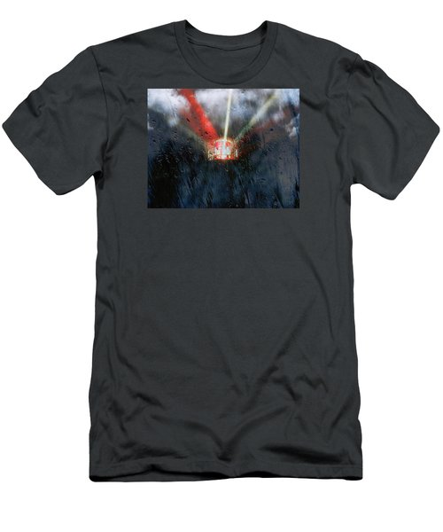 Men's T-Shirt (Slim Fit) featuring the photograph Stormy Weather by Nick Kloepping