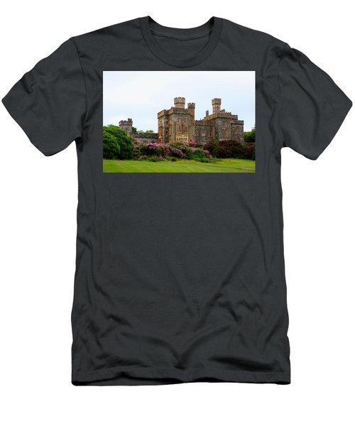 Men's T-Shirt (Athletic Fit) featuring the photograph Stornoway Castle by Rasma Bertz