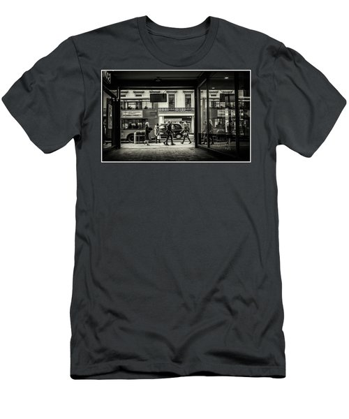 Men's T-Shirt (Athletic Fit) featuring the photograph Strand by Stewart Marsden