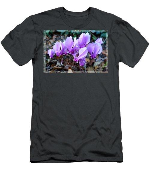 Strange Flower 4 Men's T-Shirt (Athletic Fit)