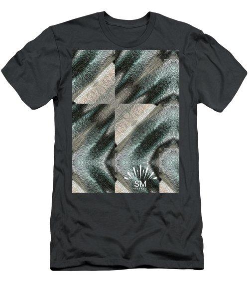 Strange Four Corner Art Men's T-Shirt (Athletic Fit)