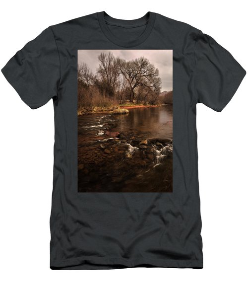 Stream And Tree Men's T-Shirt (Athletic Fit)