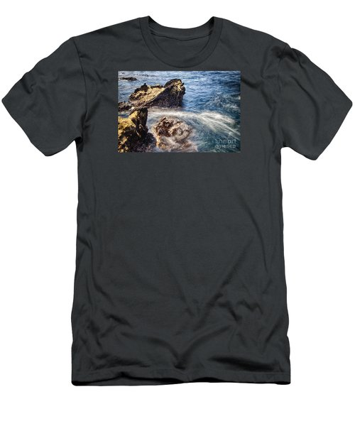 Men's T-Shirt (Slim Fit) featuring the photograph Stream by Tad Kanazaki