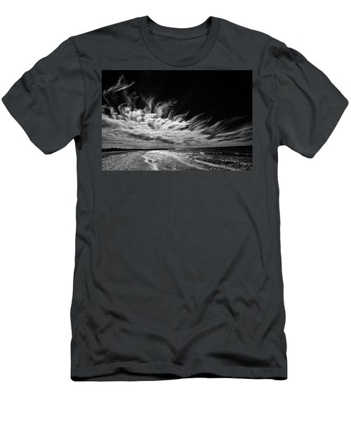 Streaming Clouds Men's T-Shirt (Slim Fit) by Kevin Cable