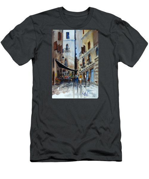 Taverna D' Strada Men's T-Shirt (Athletic Fit)