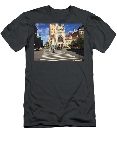 Street Crossing Men's T-Shirt (Athletic Fit)