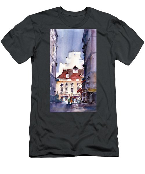 Parisian Stroll Men's T-Shirt (Athletic Fit)